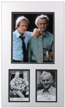 The Sweeney Autograph Signed Display - Thaw & Waterman
